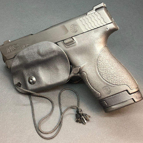 Smith and Wesson Shield 9mm | Minimalist Carry Holster Black | Beardsmen Tactical Holsters | Lakeland, FL